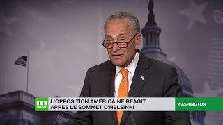 L'opposition américaine réagit après le sommet