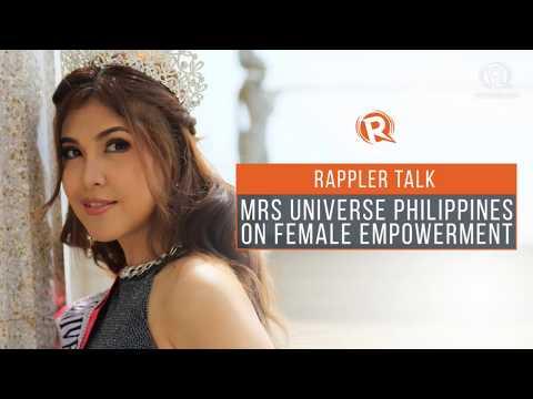 Rappler Talk: Mrs Universe Philippines on female empowerment