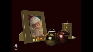 Creating a holiday image from scratch in Adobe Dimenstion CC
