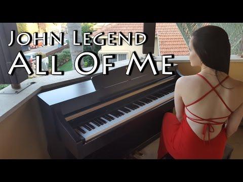 John Legend  All of me  Piano   Yuval Salomon