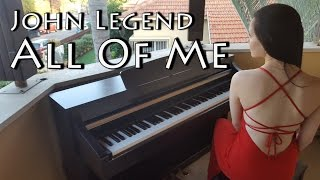 John Legend - All of me | Piano cover by Yuval Salomon