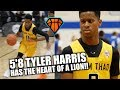 5'8 Tyler Harris Will GIVE YOU BUCKETS!! | Best Pound for Pound Scorer in the Country??