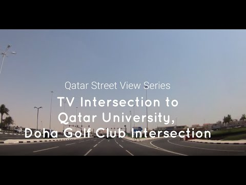 tv-intersection-to-doha-golf-intersection-|-driving-around-qatar