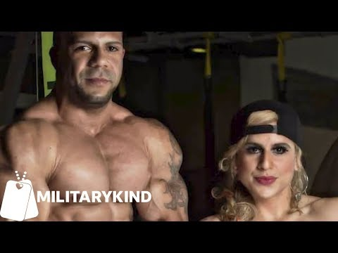 Bodybuilding Couple Reunited After A Year Of Deployment | Militarykind