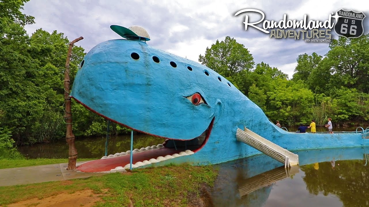 The Blue Whale Epic Roadside Attractions On Old Route 66 Youtube