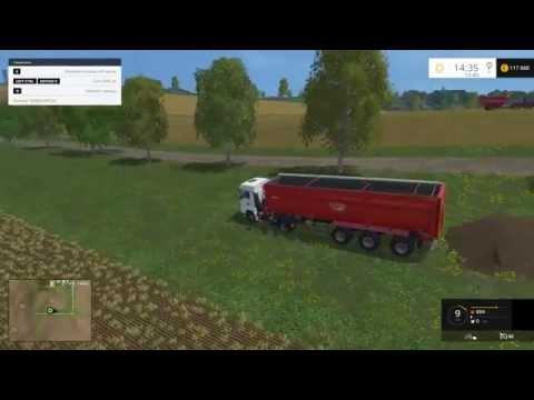 Мод альтернативной выгрузки Placeable Heaps V 1.1 Farming Simulator 2015