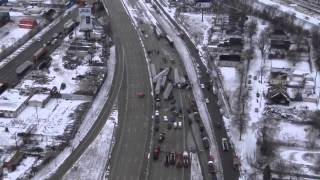Deadly I-75 crash in Detroit closes freeway