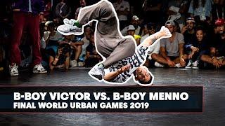 B-Boy Victor vs. B-Boy Menno   World Urban Games 2019 Final