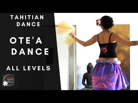 How to Dance with Tassels - Tahitian Dance Tutorial/ All Levels/ Easy to Follow thumbnail