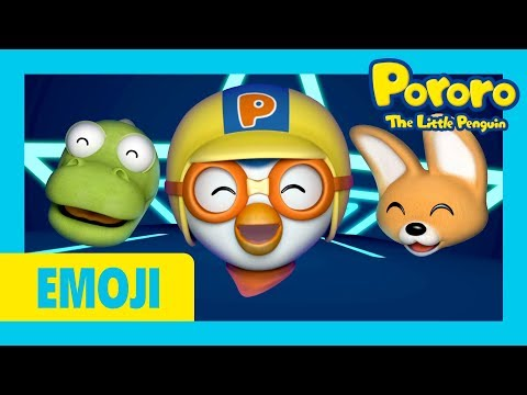 Pororo Emoji | Para pam | Singing Emoji | Animoji Nursery Rhymes | Kids Pop | Pororo singalong