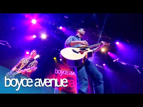 Music video Boyce Avenue - Fix You (Live)