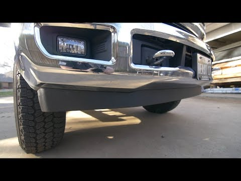 2017 Ford F250 2wd Valance