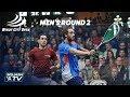 Squash: Windy City Open 2018 - Men's Rd 2 Roundup [Pt.2]