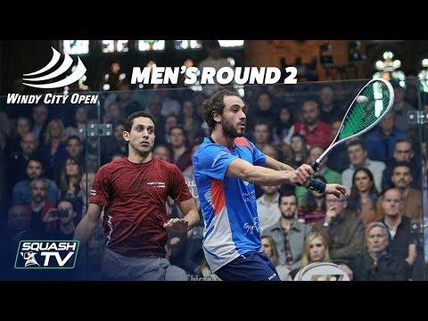 Squash: Windy City Open 2018 - Men\'s Rd 2 Roundup [Pt.2]