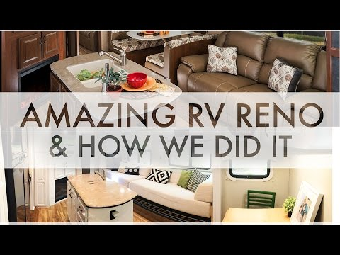 Amazing RV Renovation and How we did it : RV Fulltime w/9 kids