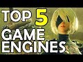 TOP 5 Game Engines For Beginners (2017)