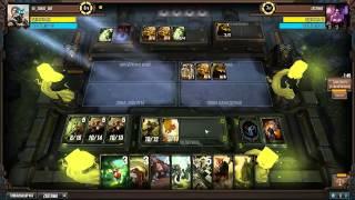Infinity Wars - Звери (первый бой колодой)