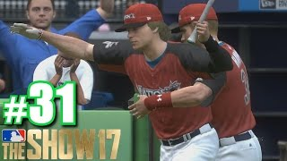 BRYCE HARPER TACKLES LUKE SKYWALKER AT HOME RUN DERBY! | MLB The Show 17 | Road to the Show #31