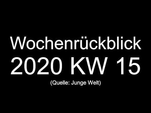 Kalenderwoche 15 2020