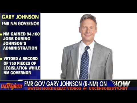 Gov. Gary Johnson on KZRR 94Rock - New Mexico's Real Rock