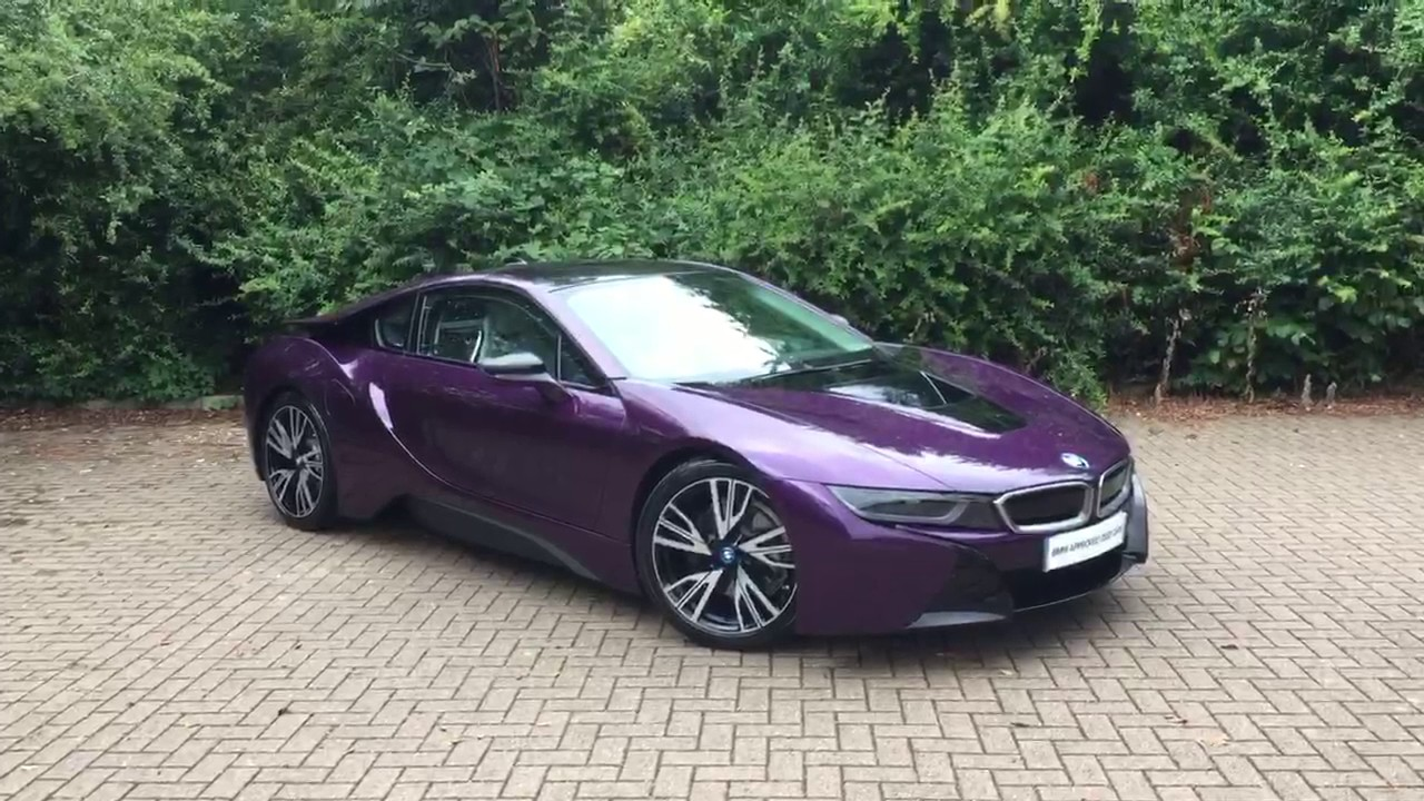 2016 I8 Silk Purple Introduction To Bmw I Approved Used Cars Youtube