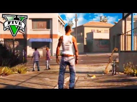 GTA V MOD EL MAPA DE GTA SAN ANDREAS EN GTA 5 !! OMG !! Makiman
