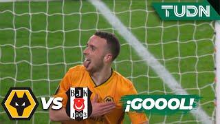 ¡Hat-trick! de Jota! Wolverhampton 4 - 0 Besiktas | Europa League - J 6 - Grupo K | TUDN