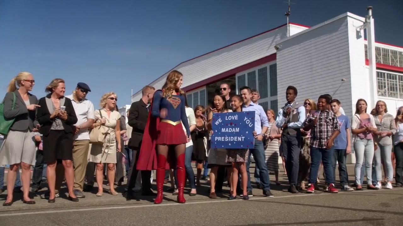 Download Supergirl Season 2 episode 3 Supergirl saves President Lynda Carter