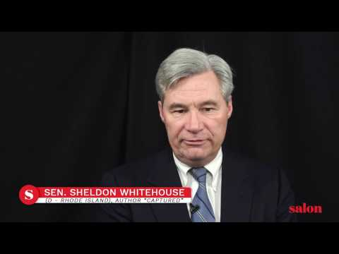 "Sen. Sheldon Whitehouse: ""Fewer than half...think that this guy makes it through his presidency"""