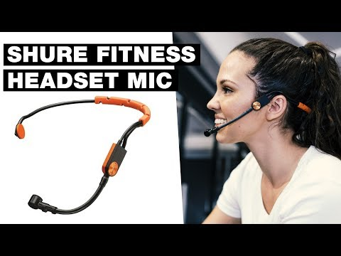 Wireless Fitness Headset Microphone — Shure Fitness Headset Mic Review