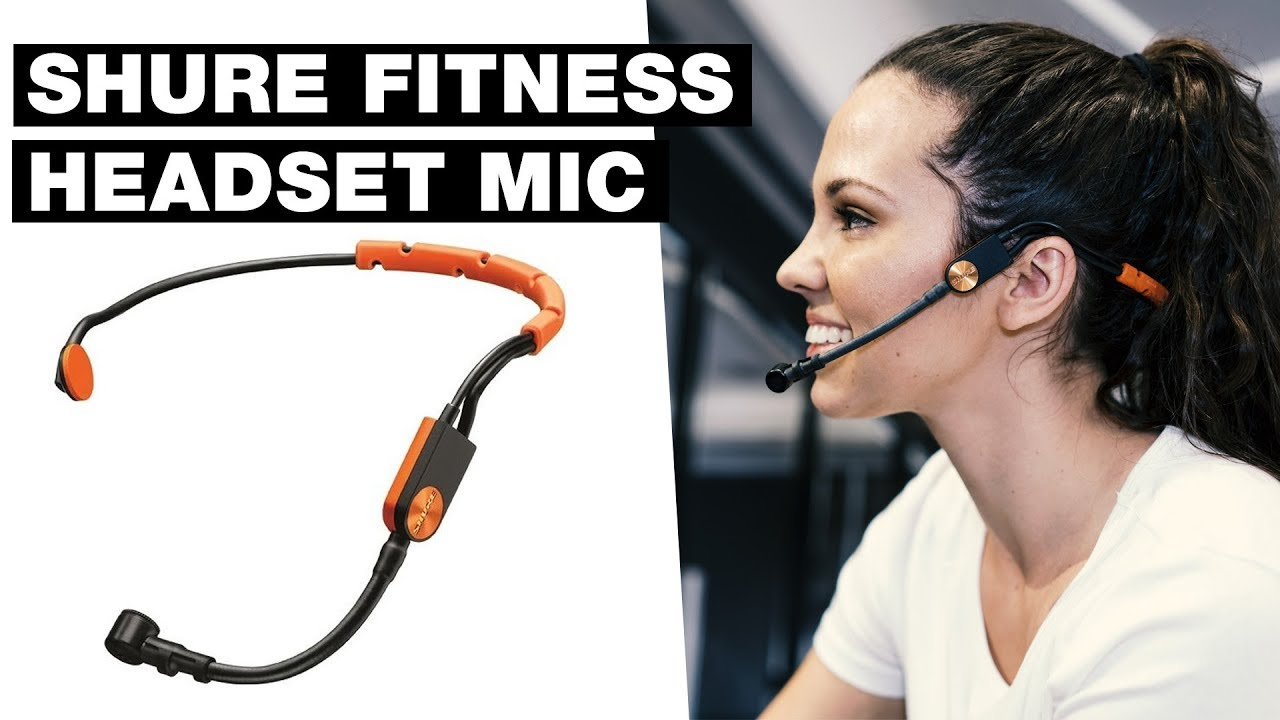 Wireless Fitness Headset Microphone Shure Fitness Headset Mic Review Youtube