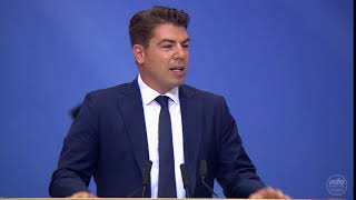 Jalsa Salana Germany 2018 | Grußwort | Herr Hitschler