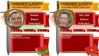 #8. Heroes 3. SoD. Browser vs Dan_CHoi. Турнир Гладиатор! 1/16 финала