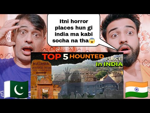 Top 5 Haunted Places In India |Shocking Pakistani Family Reactions|