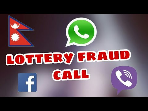 Nepali lottery fraud call imo whatsapp viber