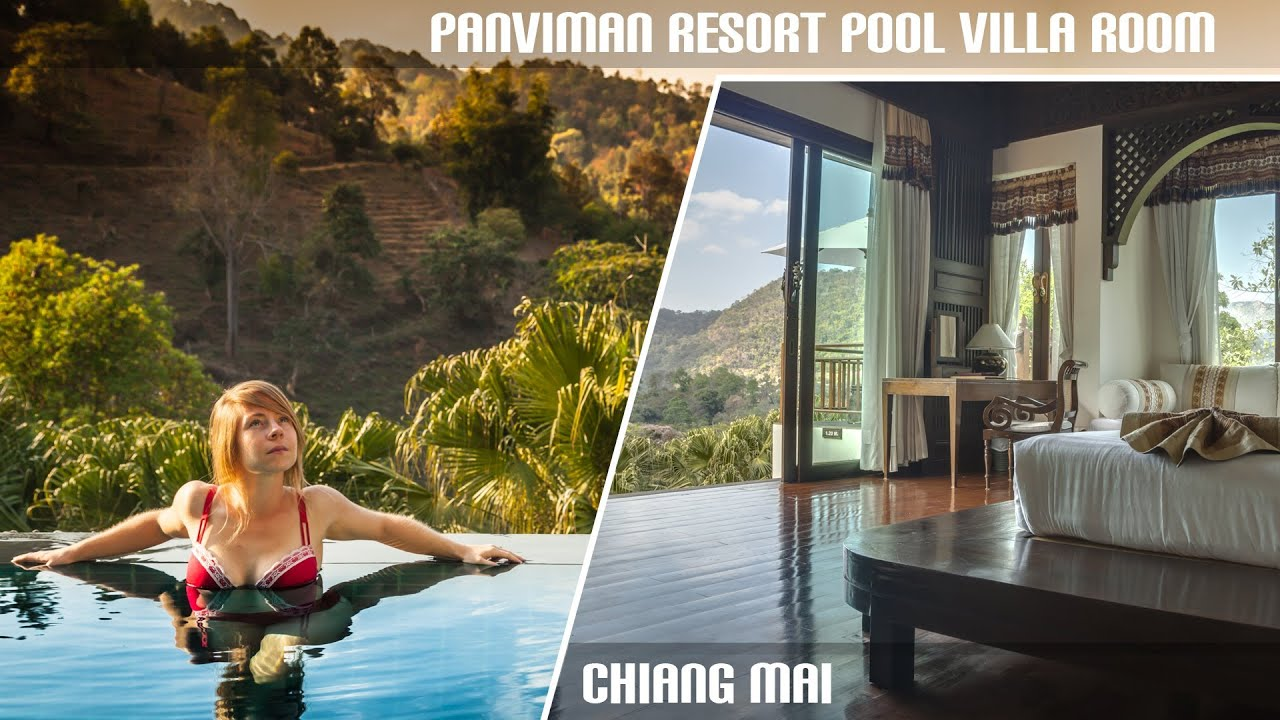 Panviman Spa Resort - Pool Villa Room - Chiang Mai - YouTube