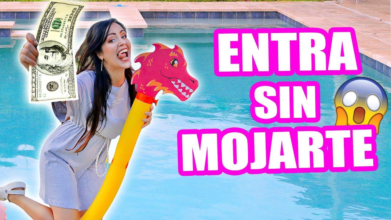 Entra A La Piscina Sin Mojarte Carrera De Obstáculos En Casa Ft Mia Exatlon 3 Sandraciresart Youtube