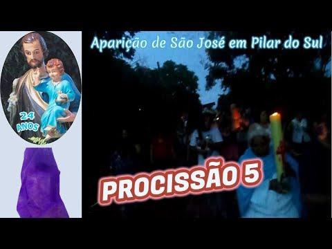 Aparição de São José em Pilar do Sul em 19.03.2019 Procissão 5