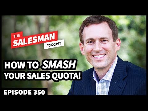 How To Hit 300% SALES QUOTA! With Mark Donnolo / Salesman Podcast
