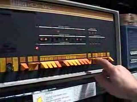 DEC PDP8 playing music