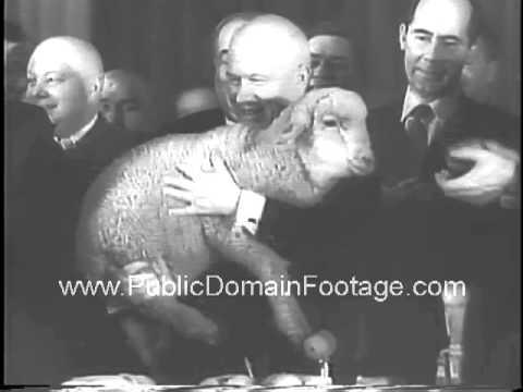 Nikita Khrushchev Visits Siberia 1961 reel archival stock footage  www.PublicDomainFootage.com