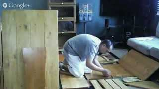 Chelsea Nook 3-pc. Dining Table Assembly - Part One