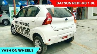 Datsun Redi-Go 1.0L Review | Yash on Wheels