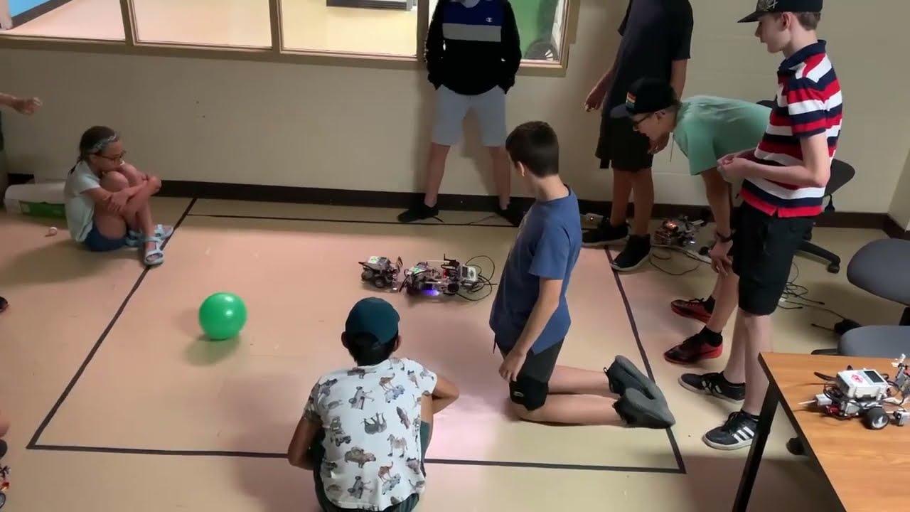 Combat de robots - Semaine 5 - Collège Montmorency