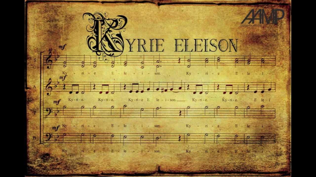 Kyrie Eleison - YouTube