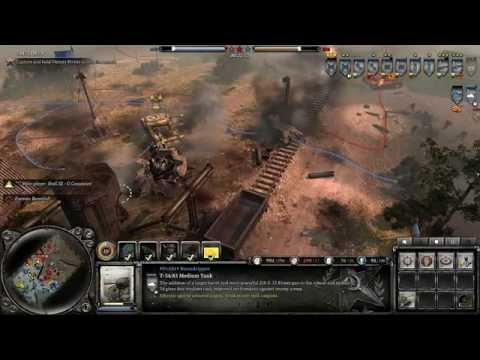 Company of Heroes 2 - The Southern Fronts DLC - Panzer Crossing - General Difficulty