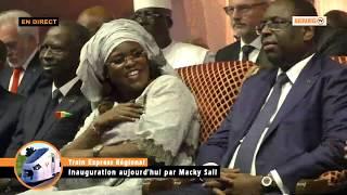 Inauguration TER: Admirez la danse de Marième Faye sur un son de Pape Diouf