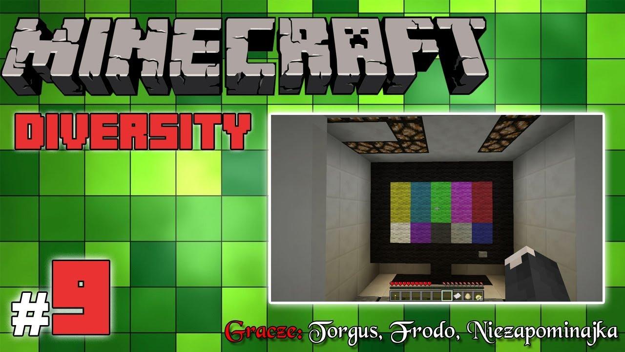 """Minecraft Escape: Diversity z Frodo/Torgus! [9/14] – """"Pole minowe i telewizory"""""""