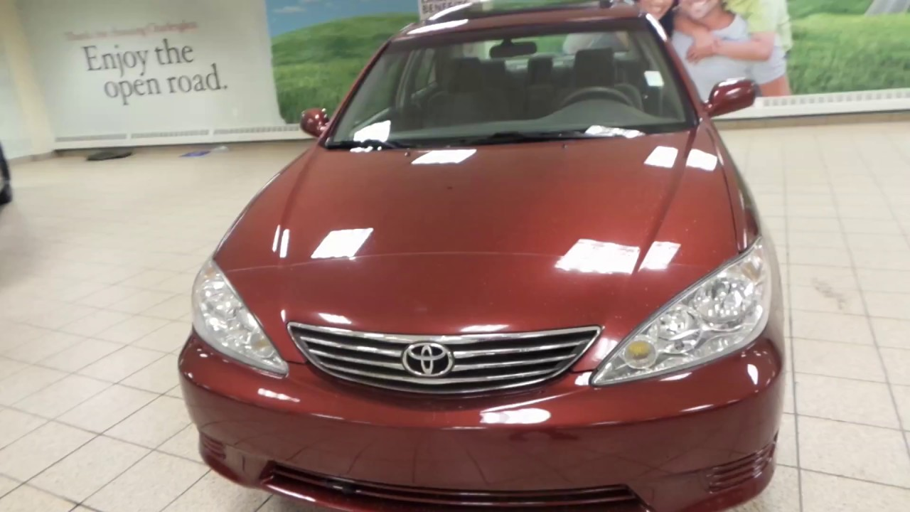 2005 Toyota Camry LE V6 -5380A