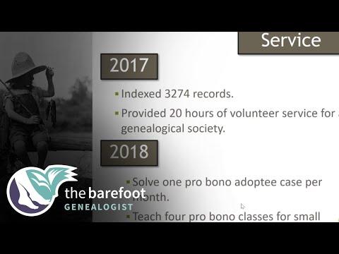 Genealogy Goals for 2018
